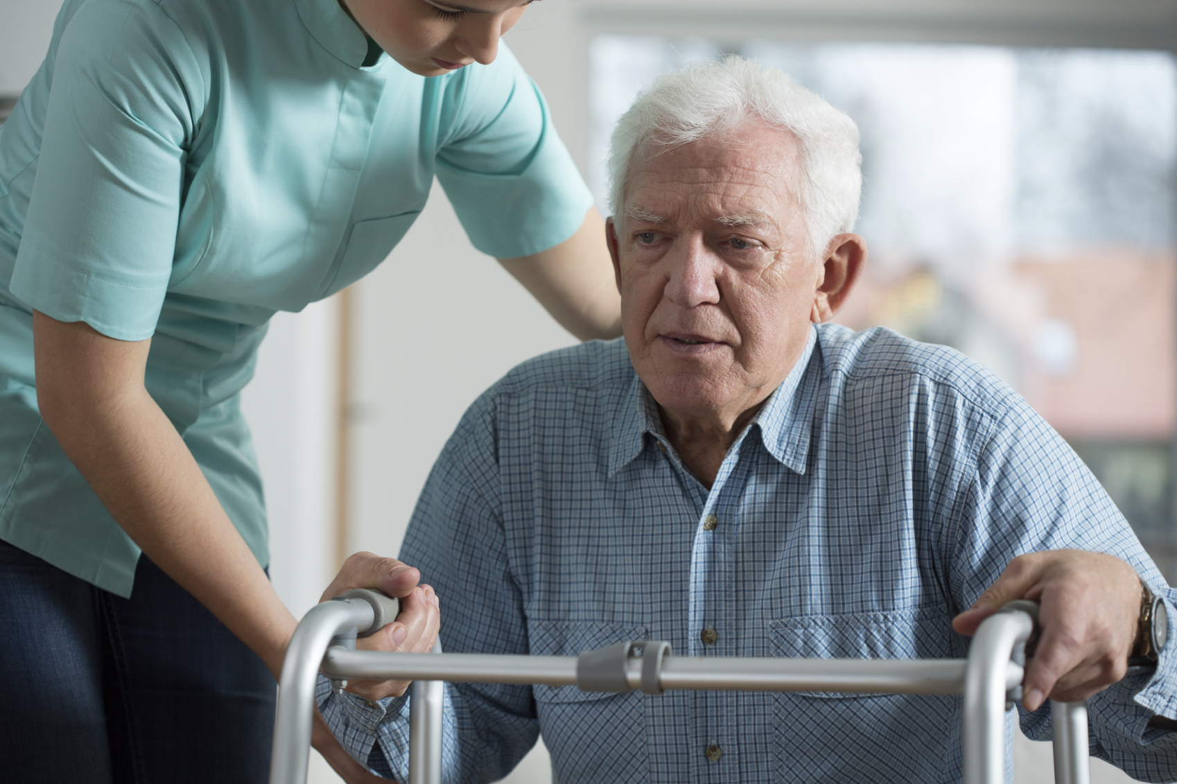 Many Seniors Have Trouble With Home Health Aide Adjusting