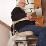 senior chairlift for aging-in-place