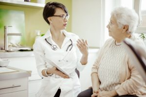 Lack of geriatric specialists
