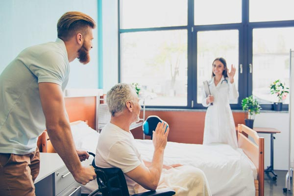 home care after hospital discharge or surgery