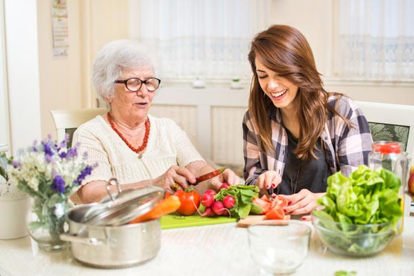 meal preparation and nutrition for seniors