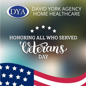 David York Agency Salutes Our Military's Service This Veteran's Day in New York